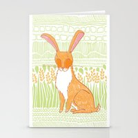 The Hare Stationery Cards