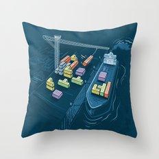 Game Port Throw Pillow