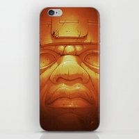 Olmeca II. (Gold) iPhone & iPod Skin