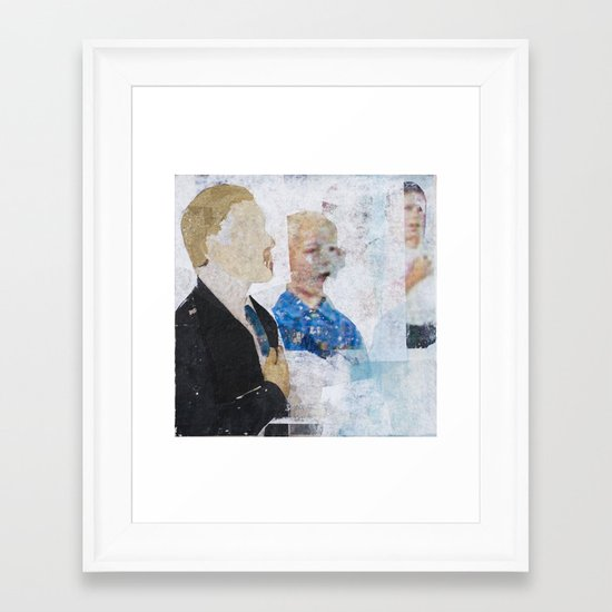 And To The Republic Framed Art Print