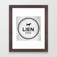 Lien Park Framed Art Print