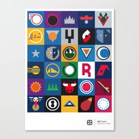 NBA Teams  Canvas Print