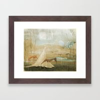 Finding Solace Framed Art Print