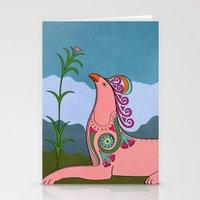 Pink Chimera Stationery Cards