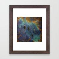Viaje Al Espacio 4 Framed Art Print