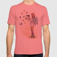 Photog Angel Mens Fitted Tee Pomegranate SMALL