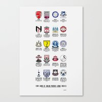 Alternate Football Teams Canvas Print