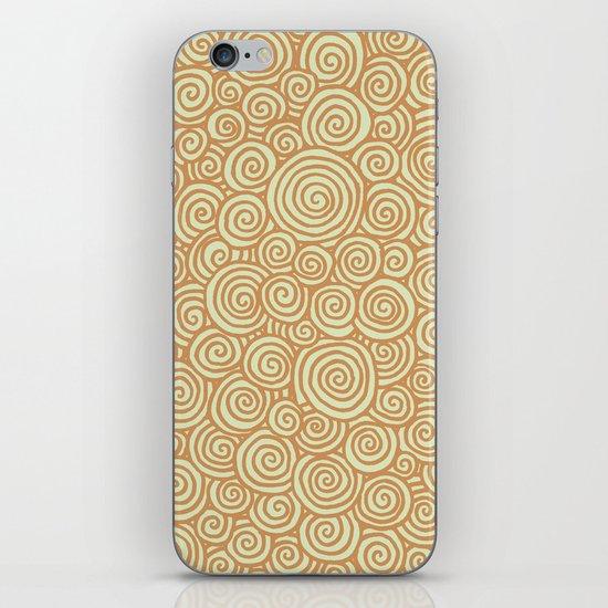 Spirals iPhone & iPod Skin