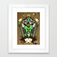 Molly Can't Make Up Her Mind Framed Art Print