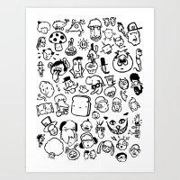 Comic Sans Art Print