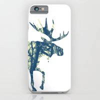 iPhone & iPod Case featuring Moose Two by Steven Springer