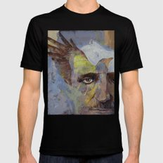 Poe Mens Fitted Tee Black SMALL