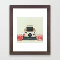 Polaroid Memories Framed Art Print