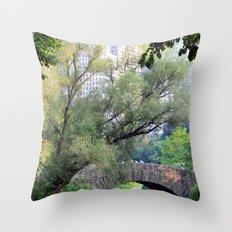 Central Park Throw Pillow