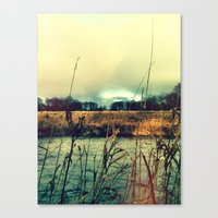 Canvas Print featuring Across the water. by Love_in_her_eye