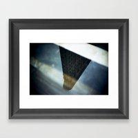 Flatiron Puddle Reflecti… Framed Art Print