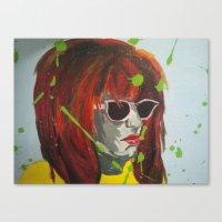 A Dash of Color Canvas Print