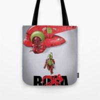 BobAkira (red) Tote Bag