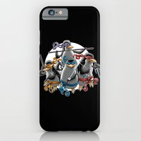 Ninja Penguins iPhone 6 Slim Case