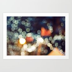 Bokeh Nights Art Print