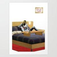 Habits / Smack Art Print