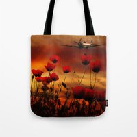 Fields Of Fire Tote Bag
