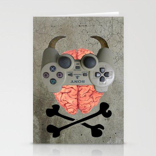 Play Brain Stationery Card