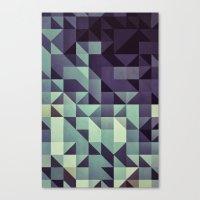 :: Geometric Maze :: Canvas Print