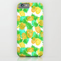 Watercolor Pineapples Tropic iPhone 6s Slim Case
