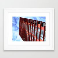 Looking Up! 12 Framed Art Print