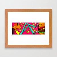 BURG Framed Art Print