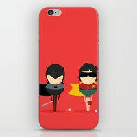 Heroes & super friends! iPhone & iPod Skin