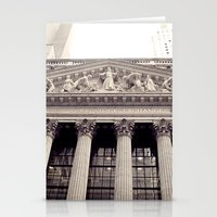 New York Stock Exchange Stationery Cards
