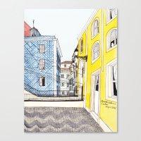 Beautiful Lisbon By Char… Canvas Print
