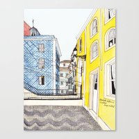 Beautiful Lisbon by Charlotte Vallance Canvas Print