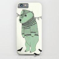 green bear iPhone 6 Slim Case