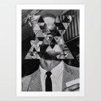 Malcolm X Art Print