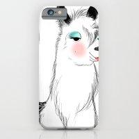 iPhone & iPod Case featuring Mrs.Llama by Lauren dunn