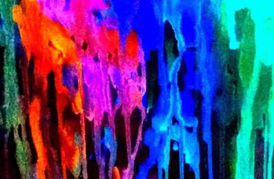 Memoryscape : Colors Series 4 Art Print