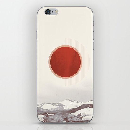 Vintage Iceland iPhone & iPod Skin