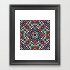Mandala 8 Framed Art Print
