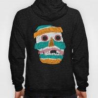 Stripy Skull  Hoody