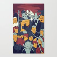 The Return Of The King Canvas Print
