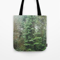 With the Trees Tote Bag