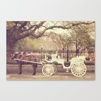 New Orleans Carriage Ride Canvas Print