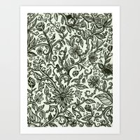 Garden of Relief and Affliction Art Print