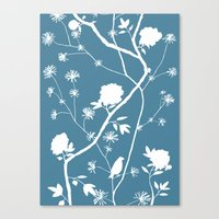 Jenny Chinoiserie Simple… Canvas Print