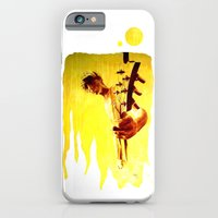 my son is a guitar god iPhone 6 Slim Case