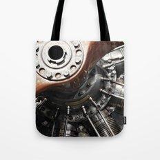 Airplane motor Tote Bag
