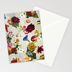 Flowery (white version) Stationery Cards
